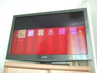 Toshiba 40BV705B 40'' LCD TV for spares / repairs with remote. Good screen? ( television )