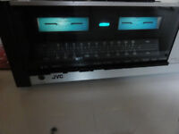 Vintage JVC JR-S100 Stereo Receiver perfect working order T/T M/M input !!! Best for Turntable