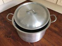 Extra Large Aluminium Pot