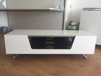 TV Stand - White Alphason Chromium 1200