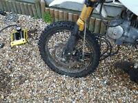 Stomp crf50 125 pit bike