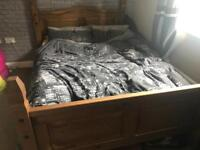 Bed frame & chest of drawers