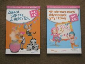 6 Brand New Polish Learn Your Numbers Books:3 for 5 to 7 and 3 for 9 to 11 Year Olds: £2 EACH BOOK