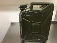 "JOP LOT-""9"" EX UN MILITARY JERRYCANS STILL IN GREAT CONDITION"