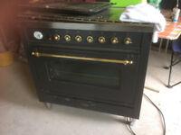 Gas Electric Range Cooker 'Britannia' Excellent condition