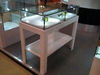 Apple Display Jewellery Gift Montana Double Top Glass Windows Showcase