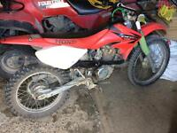 Crf100f a bunch of new parts 1300$ or trade for a crf150f