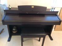 Yamaha Clavinova Digital Piano, Model CLP-340. One owner, hardly used.