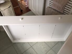 White wooden cot drawer for sale