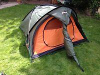Vango Mirage 300 semi geodesic three person tent
