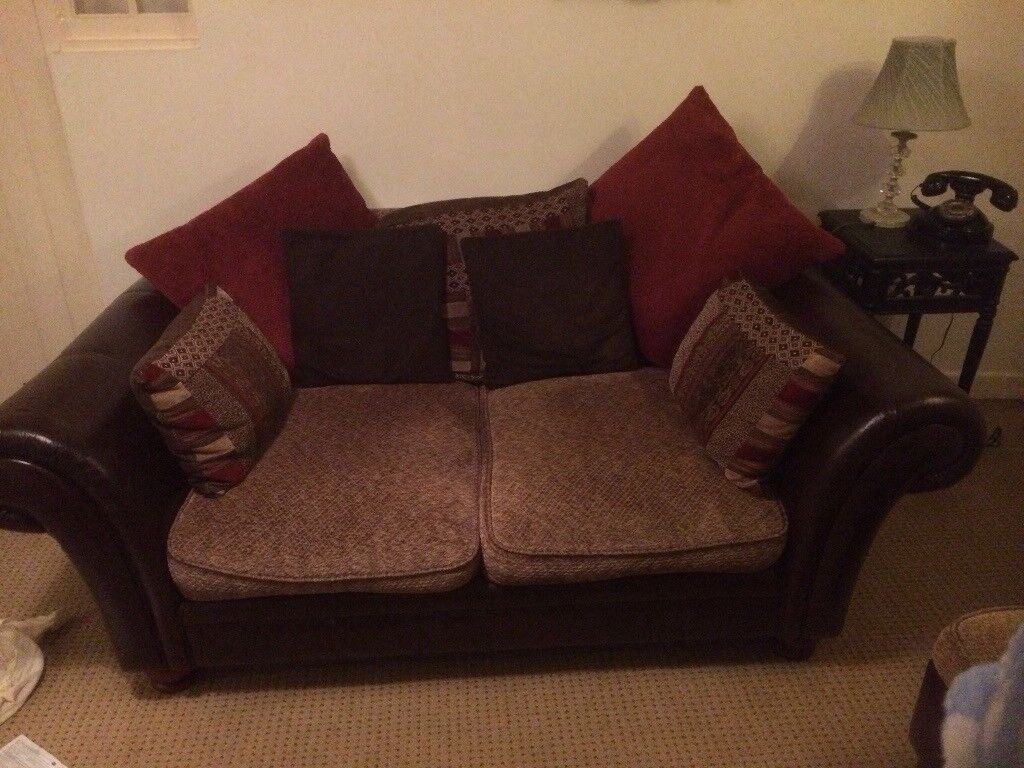 2 seater sofa Very comfortable!