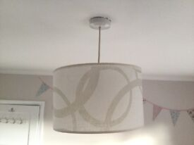 Creamy patterns lighting, in excellent condition!!