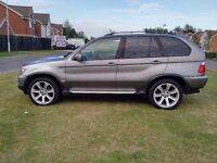BMW X5 3.0d SPORT EXCELLENT CONDITION SATNAV/TV FULL SERVICE HISTORY (MAY PX P/X PART EXCHANGE WHY?)