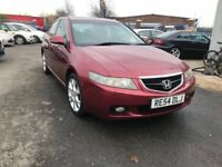 2004 Honda Accord 2.4 i-VTEC Executive 4dr FSH+SATNAV+HEATED LEATHER SEATS