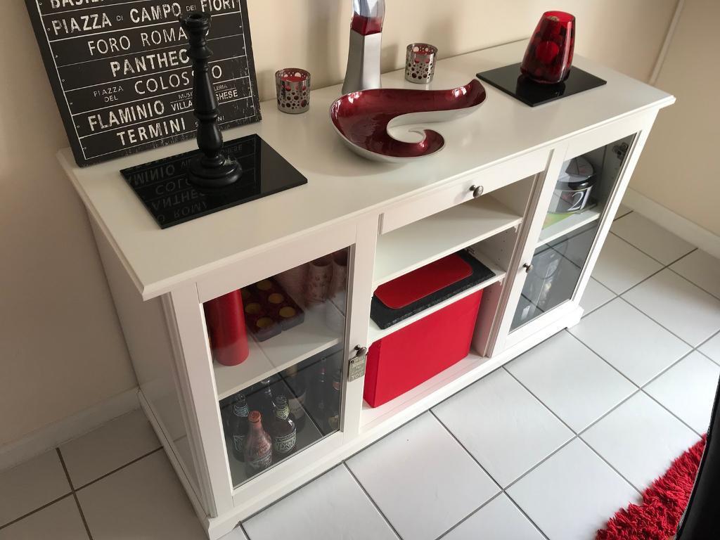 White sideboard/storage unit