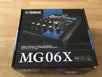 Mixer - Yamaha MG06X