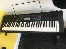 Casio CTK-3400SK Keyboard Bundle- Perfect Condition with stand, music stand and power supply
