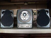 Crown - CD/Tape/Tuner - Mini Hi-Fi System