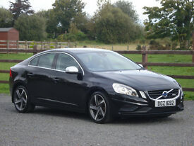 2013 VOLVO S60 2.0 D4 R-DESIGN AUTOMATIC **ONE OWNER & FULL VOLVO SERVICE HISTORY**