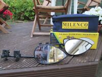 Milenco aero towing mirrors