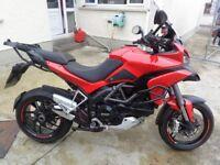 2013 Ducati Multistrada MTS1200s Touring