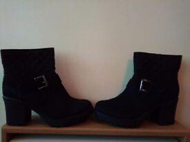 Black size 6 women shoes
