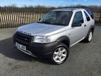 2002 52 LANDROVER FREELANDER 1.8 KALAHARI 4x4 3 DOOR JEEP *MARCH 2018 M.O.T* - GOOD EXAMPLE!