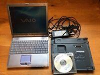 Sony Vaio PCG-R600HFP Laptop