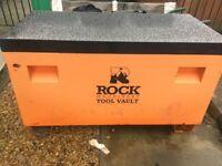 Steel tool box vault