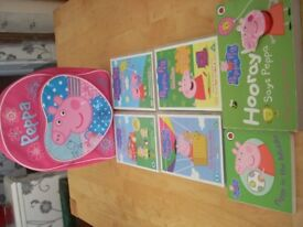 PEPPA PIG DVD,s, Books etc