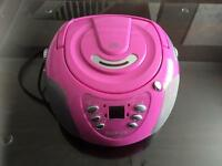 Goodmans pink cd radio