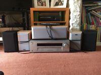 Sony Surround Sound Amplifier with Eltax Speakers
