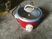 Crock-pot electric 3 cup rice cooker used £4