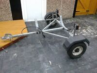 galvanised trailer chassis