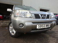 55 NISSAN X-TRAIL SVE DCI DIESEL 4X4,MOT AUG 017,2 OWNERS,2 KEYS,PART HISTORY,VERY RELIABLE 4X4