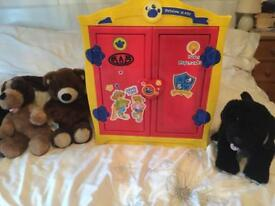 Loads of Build a Bear items - wardrobe, bears, clothes, shoes & accessories