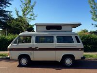 BEAUTIFUL 4 BERTH 1988 VOLKSWAGEN T25 AUTO-SLEEPER TROOPER POP TOP 4 BERTH CAMPERVAN FULLY SERVICED