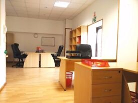 4-6 Person office available, furnished, all incl. in the enterprise zone business rates exempt