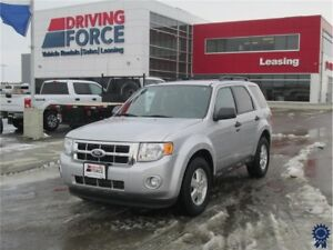 2012 Ford Escape XLT 5 Passenger 4X4, Fog Lamps, Heated Mirrors