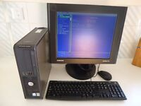 """DELL GX620 COMPUTER PENTIUM 4 2.8GHZ COMPLETE WITH 17"""" MONITOR"""
