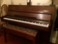 Eavestaff upright piano in lovely condition