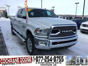 2016 Ram 2500 Longhorn Limited - FULLY EQUIPPED! UNDER 1000KMS!