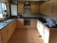 Kitchen wall units available Friday 20th