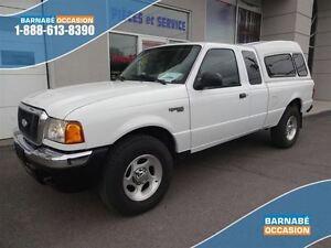 2004 Ford Ranger XLT - 4X4 - CLIMATISEUR - AUTOMATIQUE - BOITE D
