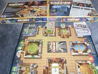 WADDINGTONS CLUEDO THE CLASSIC DETECTIVE GAME - CONTENTS AS NEW, FULL INSTRUCTIONS