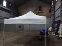 Gazebo 4.5m X 3m Pop Up, Sides and Bags Included, Nearly New