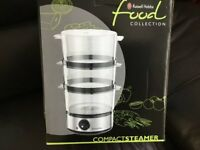 3 tier Electric Food Steamer NEW