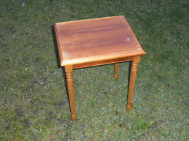 Small hardwood Occasional Table