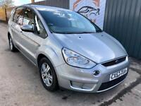 FORD S-MAX 1.8 TDCI 125 ZETEC DIESEL 7 SEATER