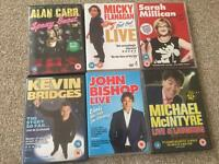 Selection of 6 Comedians DVD